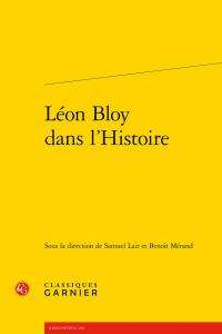 Léon Bloy dans l'histoire
